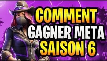 Comment Gagner A La Saison 6 Astuce Sur Fortnite Battle Royale