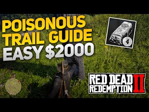 Red Dead Redemption 2: Poisonous Trail Treasure Hunt Guide – Easy $2000 (Upgrade Camp/Fast Travel!)
