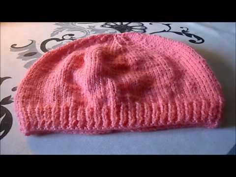tuto tricot bonnet 3-6 mois