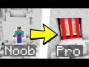 TUTO BUNKER ULTRA SECURISE A 3 ETAGES ! NOOB VS PRO MINECRAFT