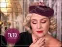 Tuto Coiffure vintage pour chapeau