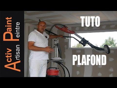 1/7 TUTO PEINTURE COMMENT PONCER UN PLAFOND a la GIRAFFE FLEX comme un pro ACTIV PAINT