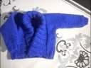 tuto tricot gilet bébé 6 mois
