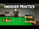 Snooker Practice | 3 Reds Break Building | Snooker Lesson