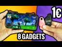 Je teste 8 Gadgets à 1€ !