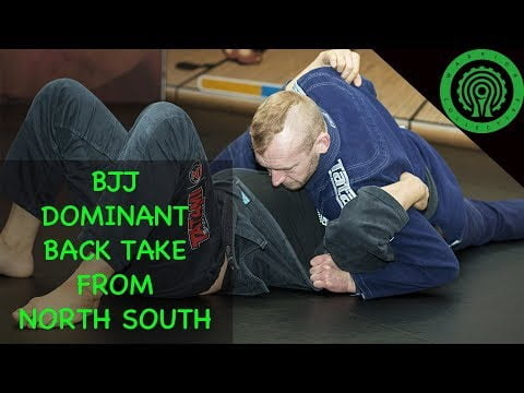 BJJ Training – Take the Back from a Dominant North South Position with Casey Jones