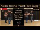 These Two Moves Will Turn You Into An Incredible Dancer!! – West Coast Swing – Clockwise Options