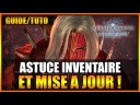 GUIDE/TUTO – ASTUCE INVENTAIRE ET MISE À JOUR DU FIEF – MONSTER HUNTER WORLD ICEBORNE – FR