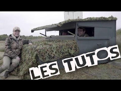 Le hutteau mobile – Tuto Chasse Saison 3