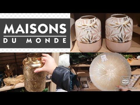 MAISONS DU MONDE DECORATION INTÉRIEUR