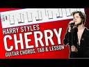 Cherry – Harry Styles Guitar Lesson / Tutorial (with TAB on screen)