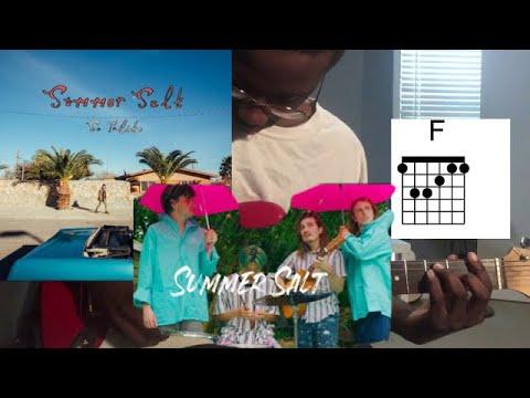 Summer Salt – Candy Wrappers Guitar Tutorial