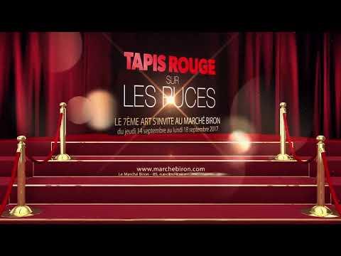 Court teaser événement antiquaire Fête des Puces 2017 – TAPIS ROUGE SUR LES PUCES