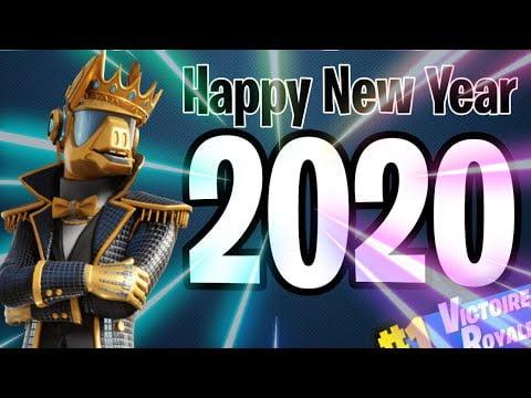 ÉVÉNEMENT pour le NOUVEL AN *Fortnite en fête* #2020