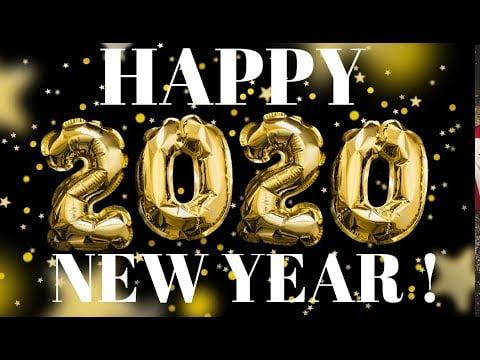 HAPPY NEW YEAR!  2020, Jazz Piano Arrangement w/ link to tutorial