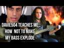Learning Bass From Davie504's Tutorial – Davie504 Reaction