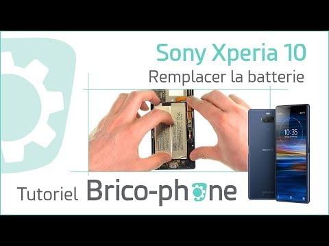 Tutoriel Sony Xperia 10 : changer la batterie