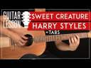 Sweet Creature Guitar Tutorial 🎸 Harry Styles Guitar Lesson |Fingerpicking + TAB|