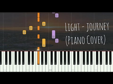 Light – Journey (Piano Cover, Synthesia Tutorial)