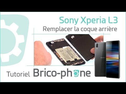 Tutoriel Sony Xperia L3 : changer la coque arrière (cache batterie)