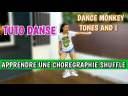 APPRENDRE UNE CHORÉGRAPHIE SHUFFLE DANCE MONKEY TUTO DANSE