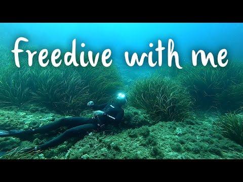 Apnée de 5min en LIVE avec moi en mer // Hold your breath with me at sea 5min