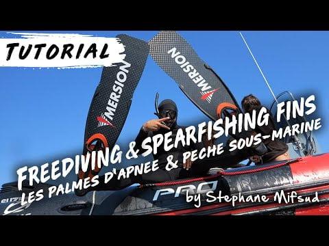 Ep9 : Les Palmes d'Apnée & de Pêche sous-marine // Freediving & Spearfishing Fins