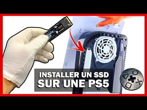 "[TUTO] PS5 : INSTALLER UN DISQUE DUR ""SSD"" SUPPLÉMENTAIRE DANS SA CONSOLE"