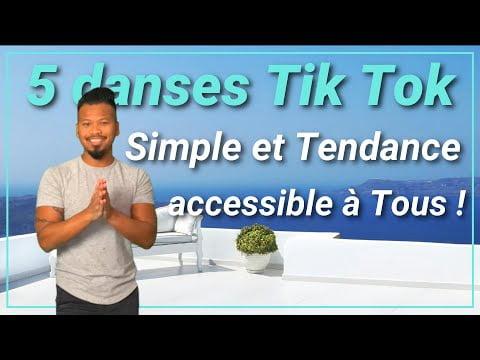 [TUTO TIK TOK] 5 Danses simples & tendances qu'on a beaucoup retrouvé en Octobre | Accessible à Tous