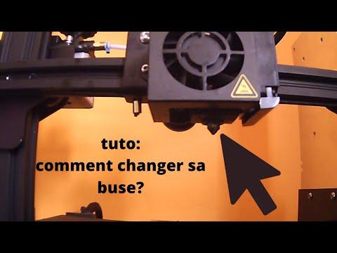 Tuto: Comment changer la buse de son imprimante 3D?