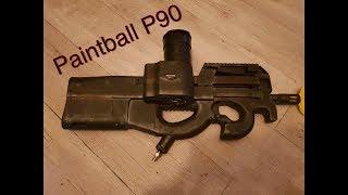tuto de création d'un lanceur paintball camo de type p90