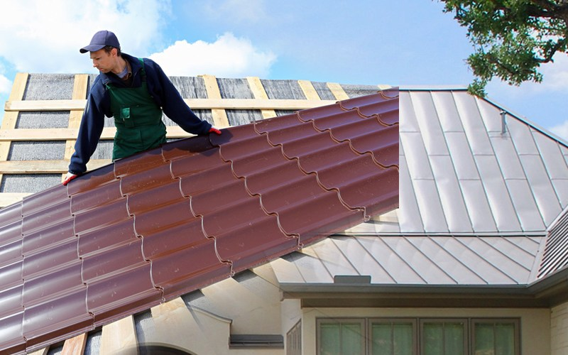 Does a metal roof make house hotter?