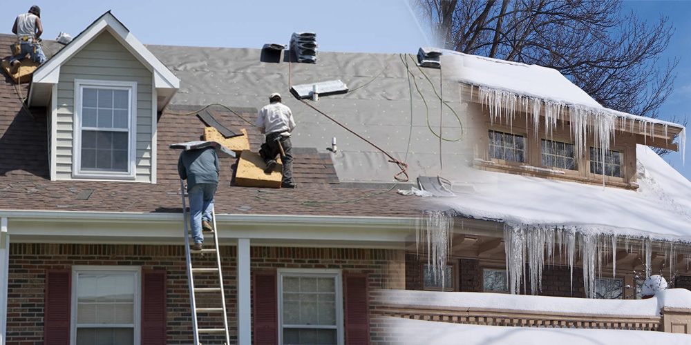 roofing in winter - tut roofing