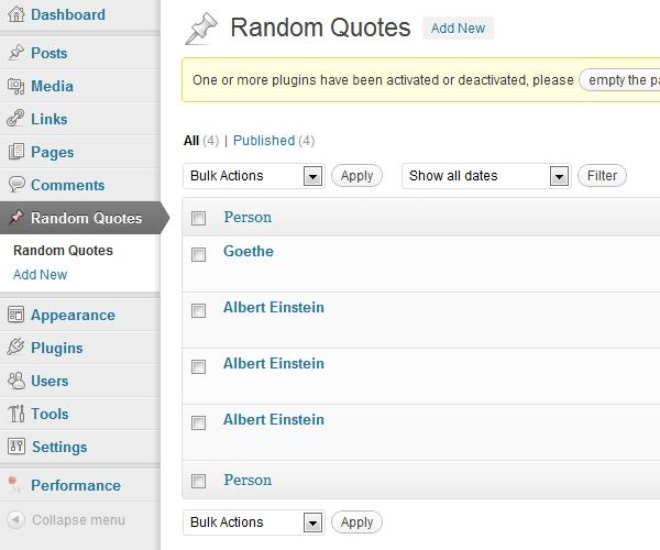 plugin random quot