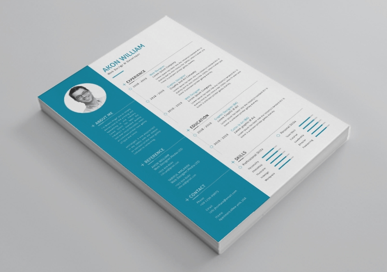 Free Resume Vector Template