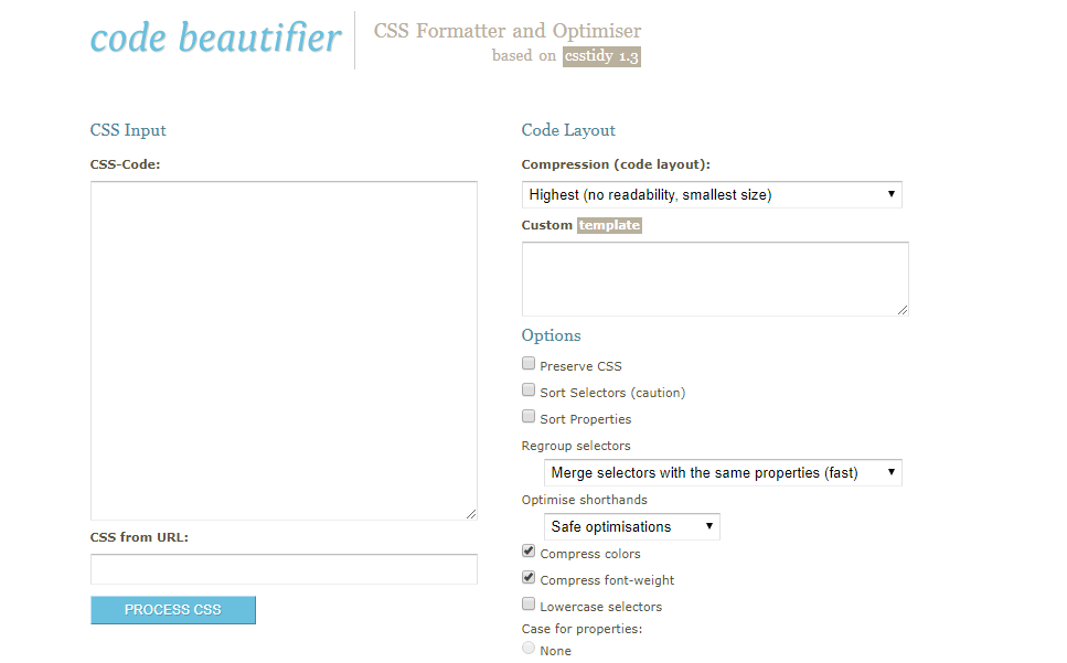 Code Beautifier