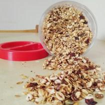 granola dispensa healthy fit avena oats muesli nuts