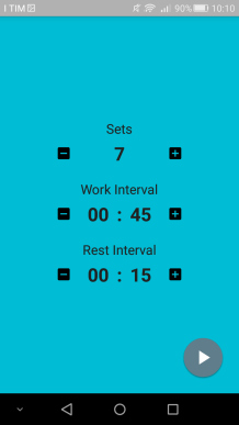 interval timer app smartphone healthy fit fitness