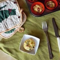 egg muffin uova frittata zucchine mozzarella prosciutto ricetta studenti università