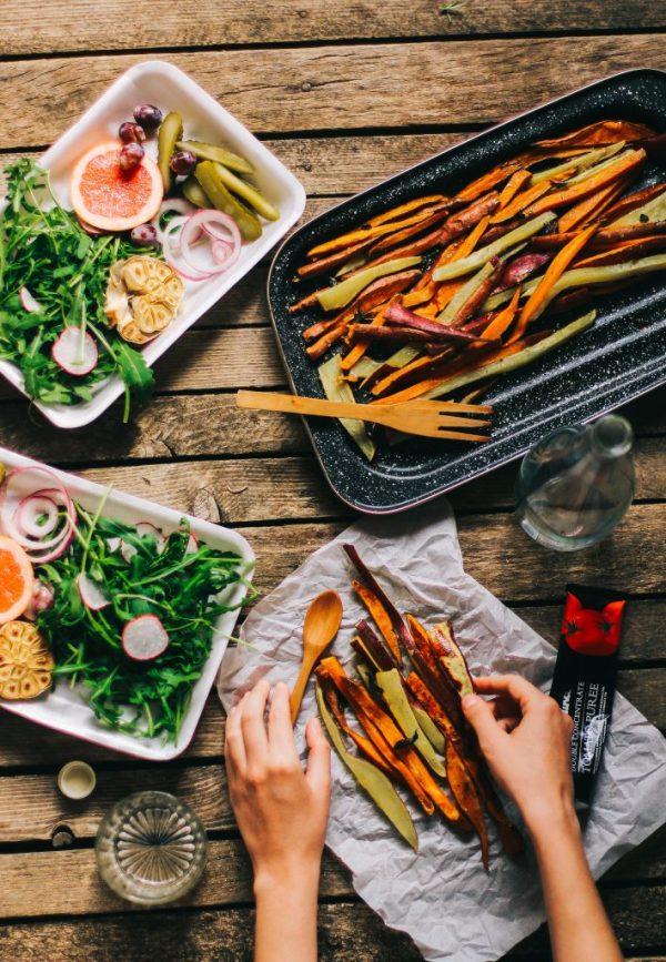 verdure cibo sano meal prep fit organizzazione pasti