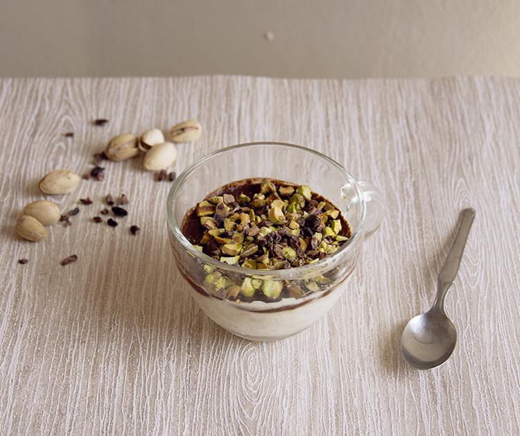 Porridge gelato al pistacchio – ricetta sana e senza gelatiera