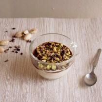 porridge gelato al pistacchiomerenda fredda estate
