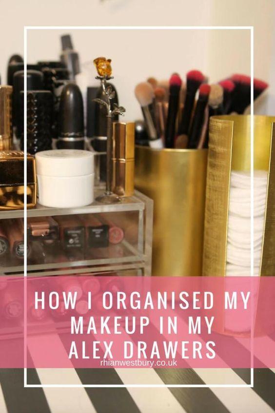 makeup organisation hacks