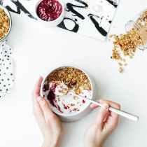 yogurt greco colazione cereali