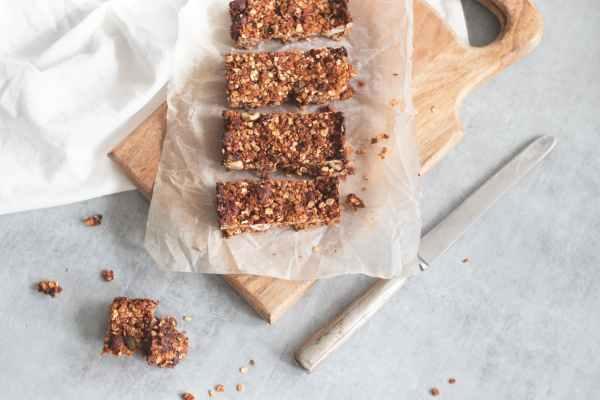 barrette cereali colazioni sane meal prep