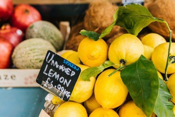 limoni bio biologici risparmio spesa frutta verdura risparmiare