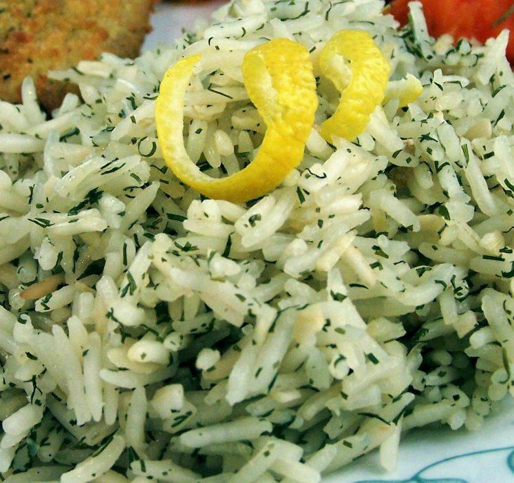 Lemon & Dill Rice