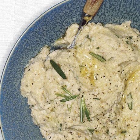 fennel and potato puree