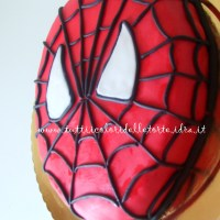 Torta Spiderman Mask 2