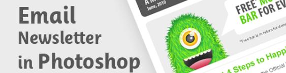 Design an Email Newsletter in Photoshop